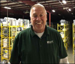 JR in warehouse.