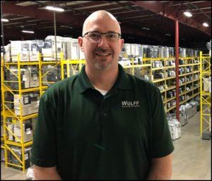 Ron, Sales Representative in Warehouse.